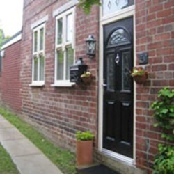 PVCu Door installation in Somerset