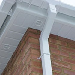 New soffits & guttering installed in Somerset
