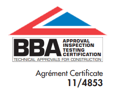 Certified by the British Board of Agrément